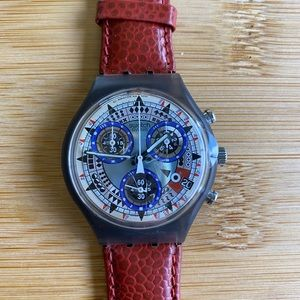 Swatch Accessories - NWT Vintage 1992 Swatch Watch AZT ECO